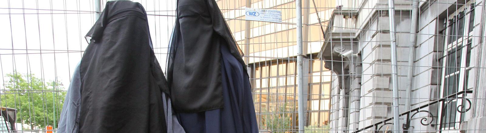 Burkaverbot tritt in den Niederlanden in Kraft