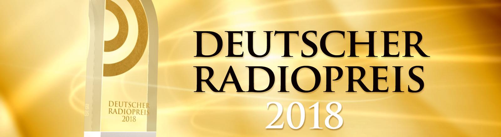 Logo Deutscher Radiopreis 2018