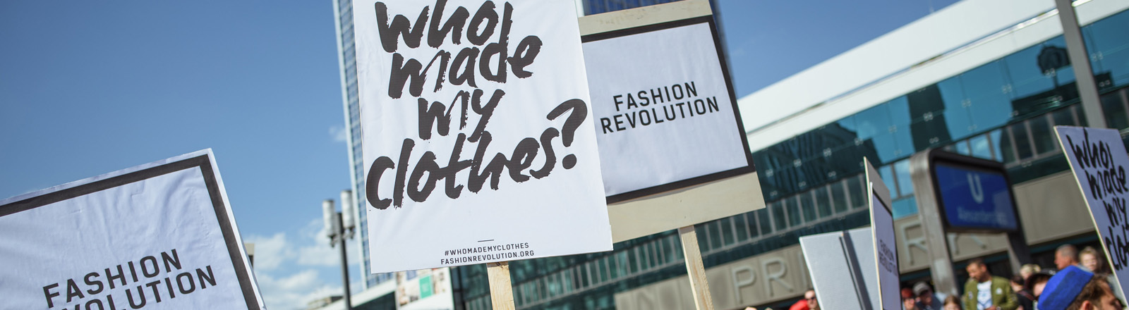 Aktionstag Fashion Revolution Day