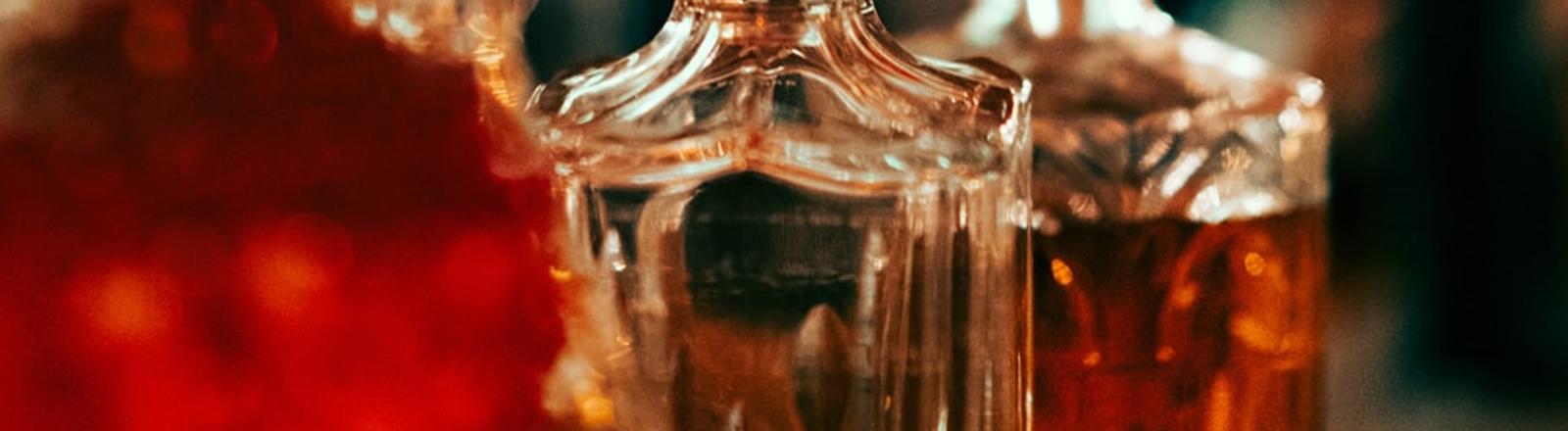 Whisky-Flaschen
