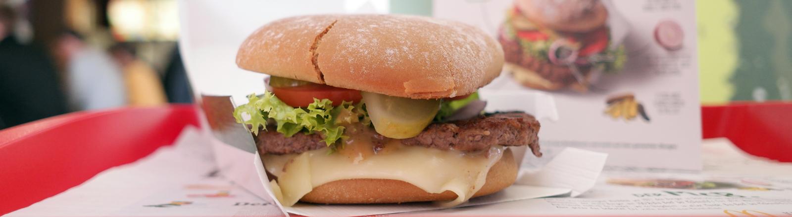 Der Bio-Burger von McDonald's