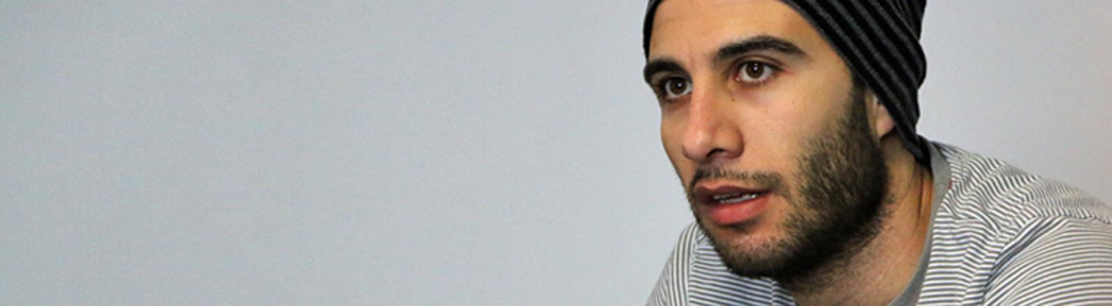 Der syrische Flüchtling Omar.