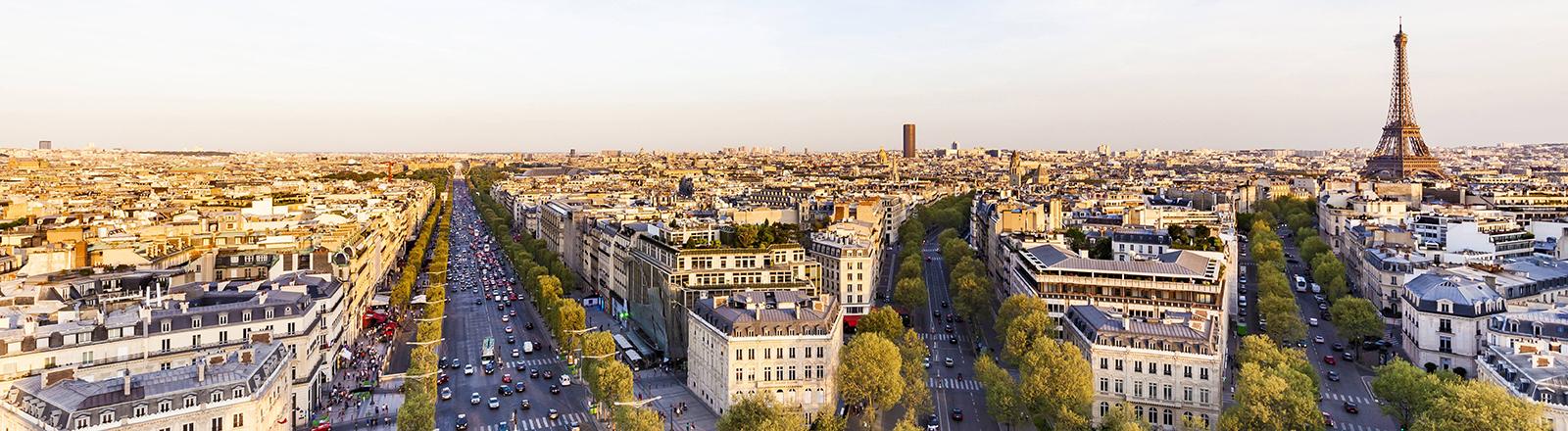 Panorama von Paris.
