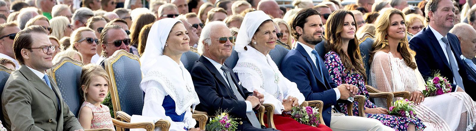 Schwedische königliche Familie.