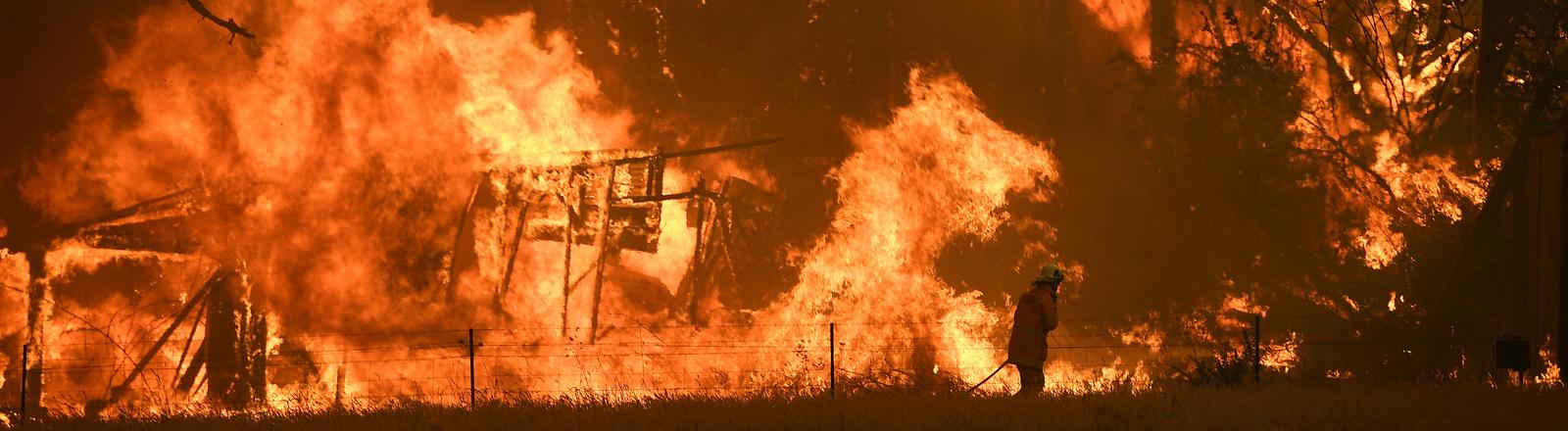 Buschbrände in Australien.