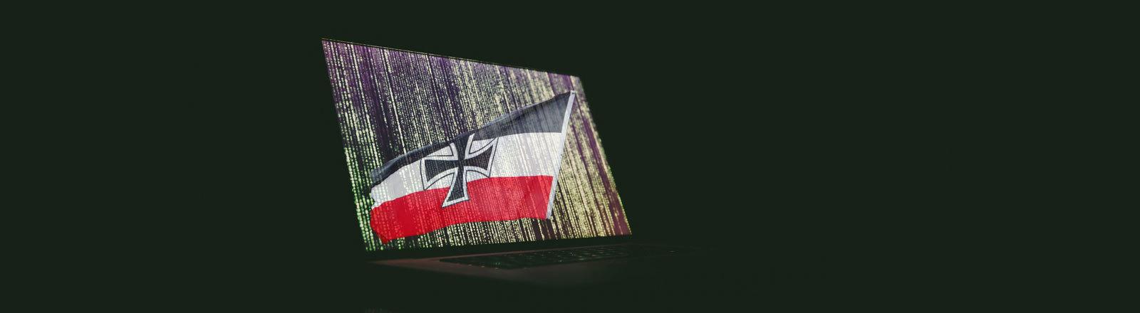 Reichsflagge Rechtsextreme Internet