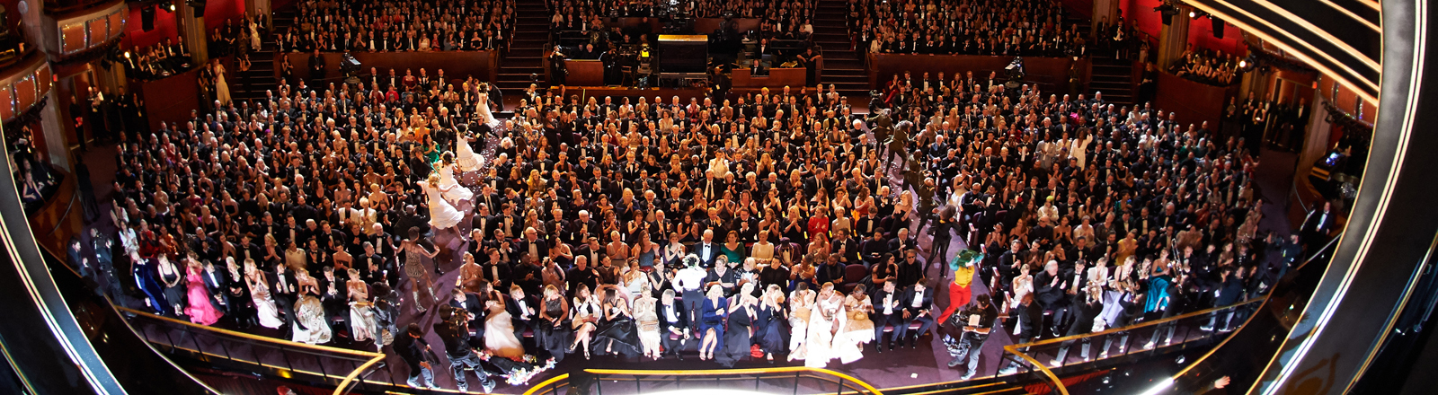 Das Publikum der Oscar-Verleihung 2020.