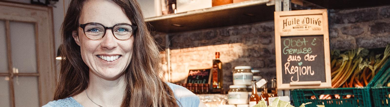 """Nicole Klaski kämpt mit ihrem Laden """"The Good Food"""" gegen Lebensmittelverschwendung."""