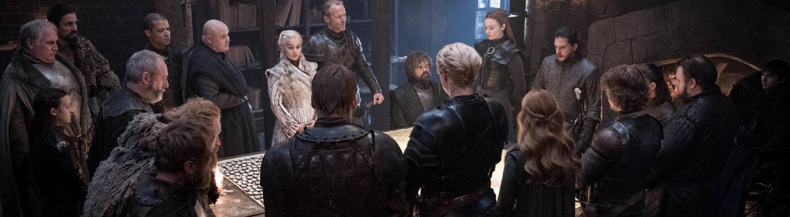 """Eine Szene aus der letzten Staffel """"Game of Thrones""""."""