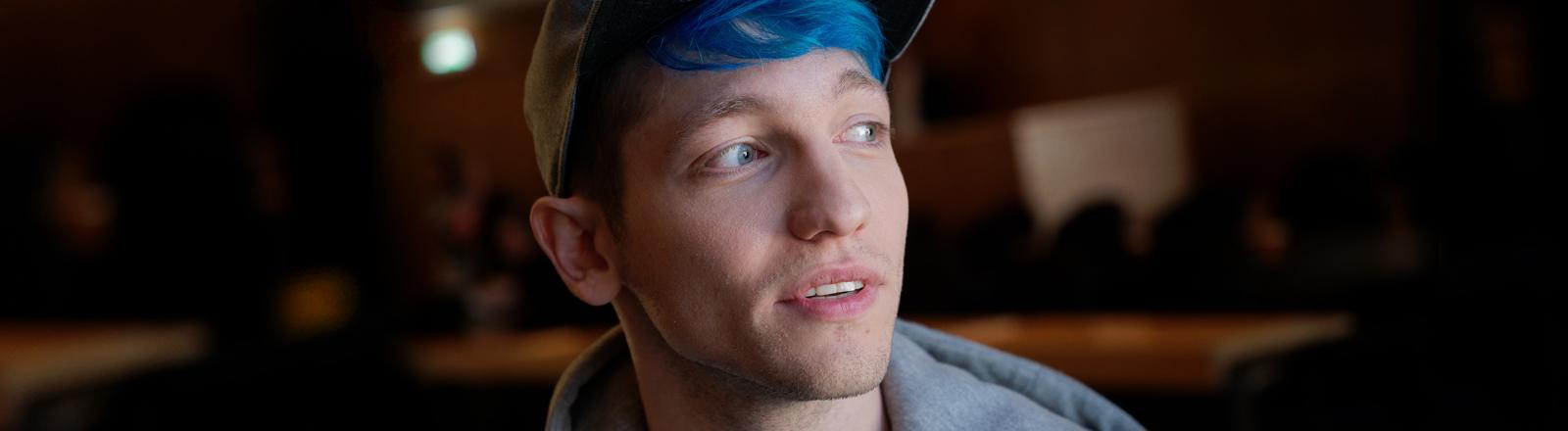 Der Youtuber Rezo im Porträt.