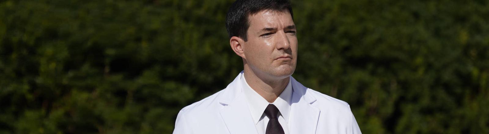 Der Arzt Sean Conley am 05.10.2020.