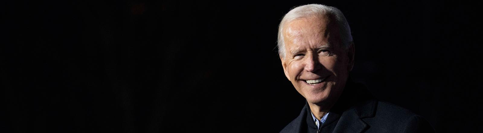 Joe Biden auf einer Wahlkampfveranstaltung am 31.10.2020.