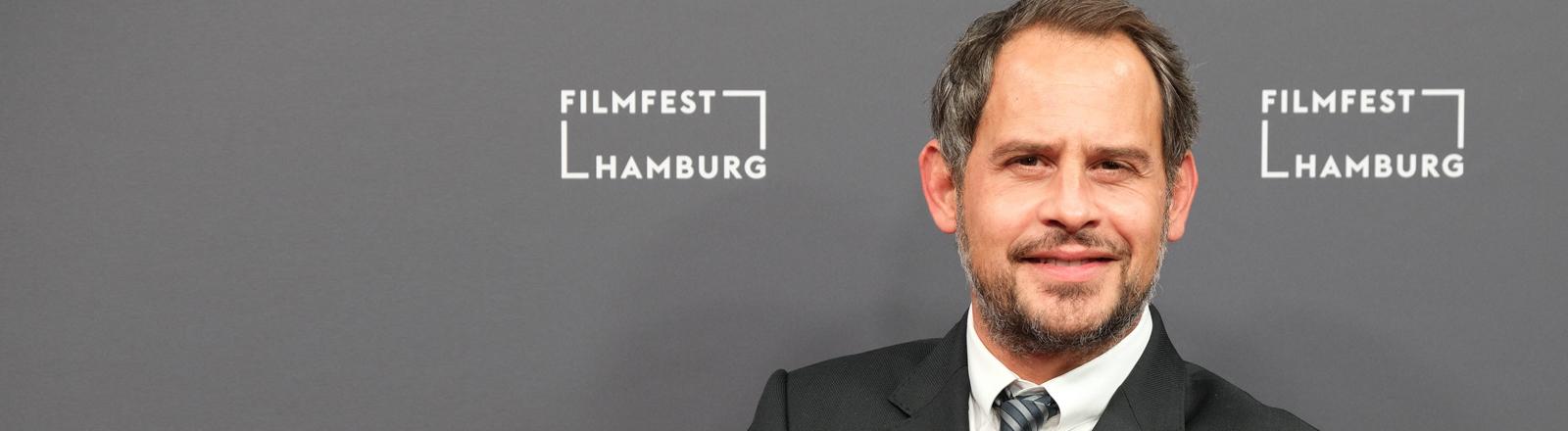 Moritz Bleibtreu stellt als Regisseur seinen Film Cortex vor.