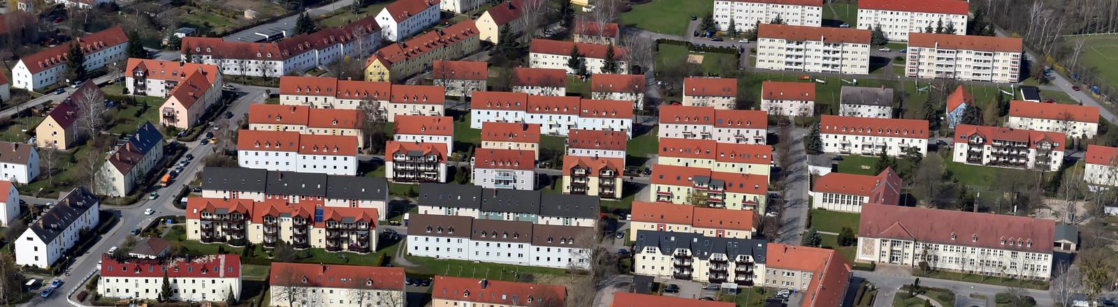 Luftaufnahme von Tröglitz