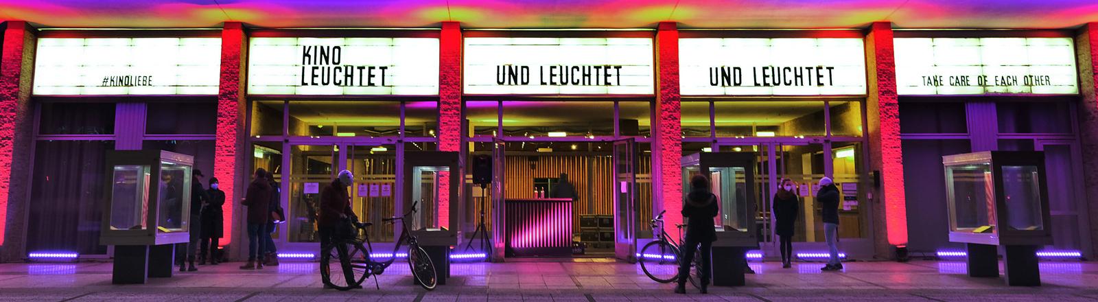 Das Berliner Kino International am Vorabend der Berlinale 28.02.2021.