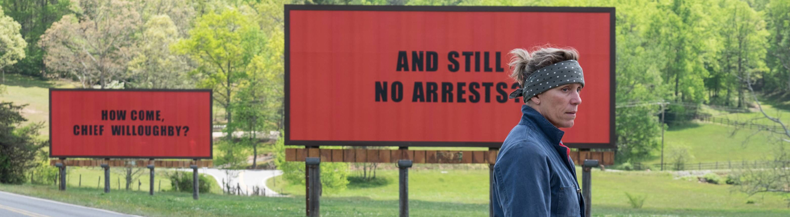 "Filmstill ""Three Billboards Outside Ebbing, Missouri"""