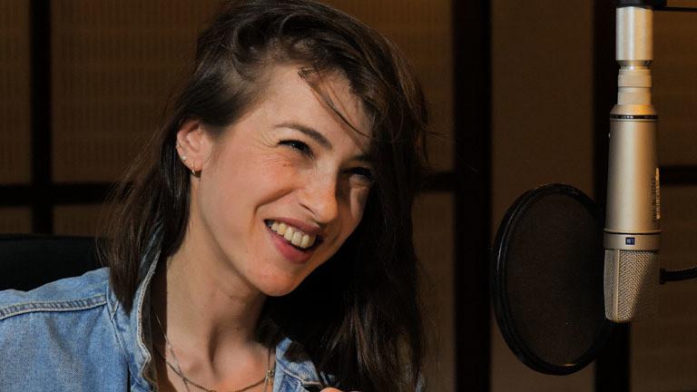 Kat Kaufmann im Berliner Dlf Nova Studio