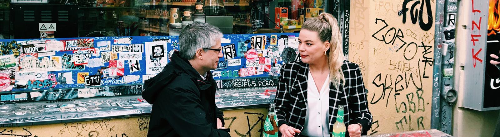 Der Grünen-Politiker Sven Giegold im Gespräch mit Rahel Klein