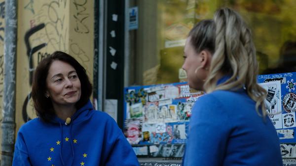 Katarina Barley im Gespräch mit Rahel Klein
