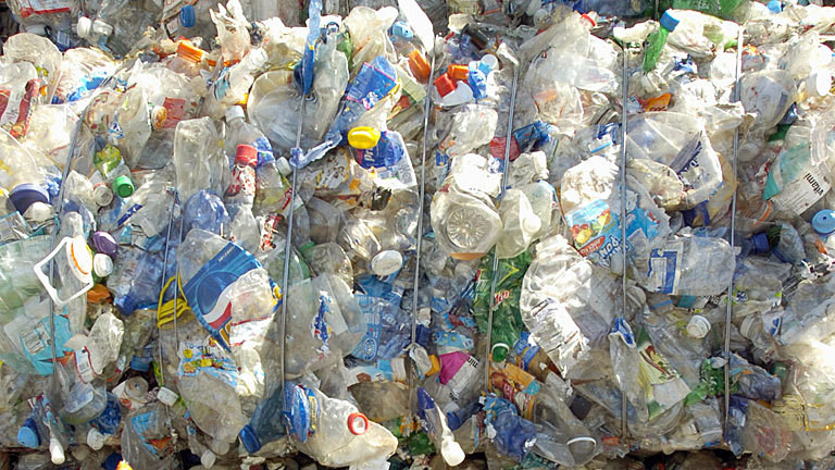 Recycling von Plastikmüll in Kalifornien