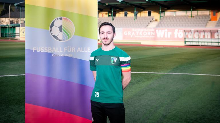 Fußballer Oliver Egger