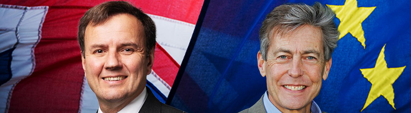 Greg Hands (links) und Ben Bradshaw (rechts)