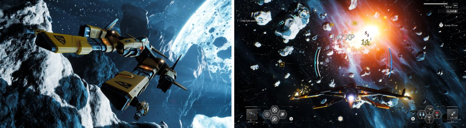 """Challenges bringen Abwechslung in den kampflastigen Spielverlauf: Screenshots aus """"Everspace 2"""""""