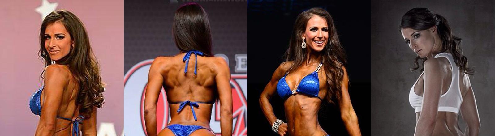 Die Bikini-Athletin Kathrin Weishaupt