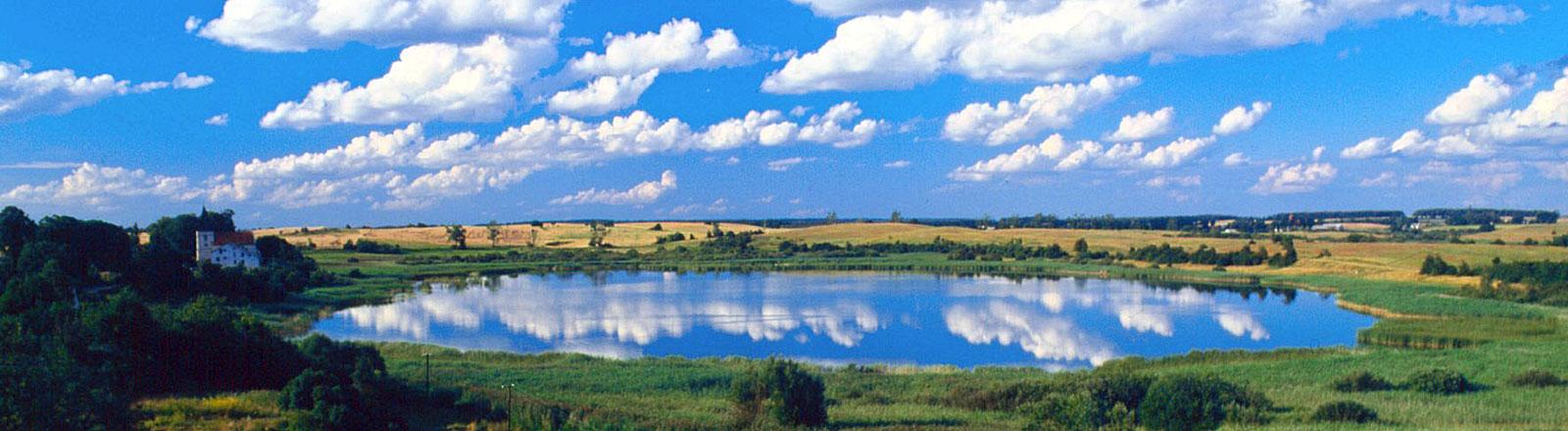 Masurische Seenplatte in Polen