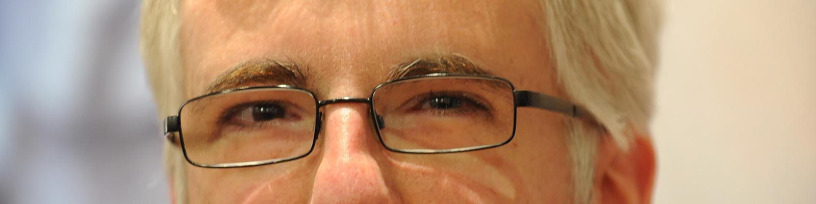 Christian Humberg, der Geek schlechthin, aufgenommen am 15.10.2011 auf der 63. Frankfurter Buchmesse in Frankfurt am Main.