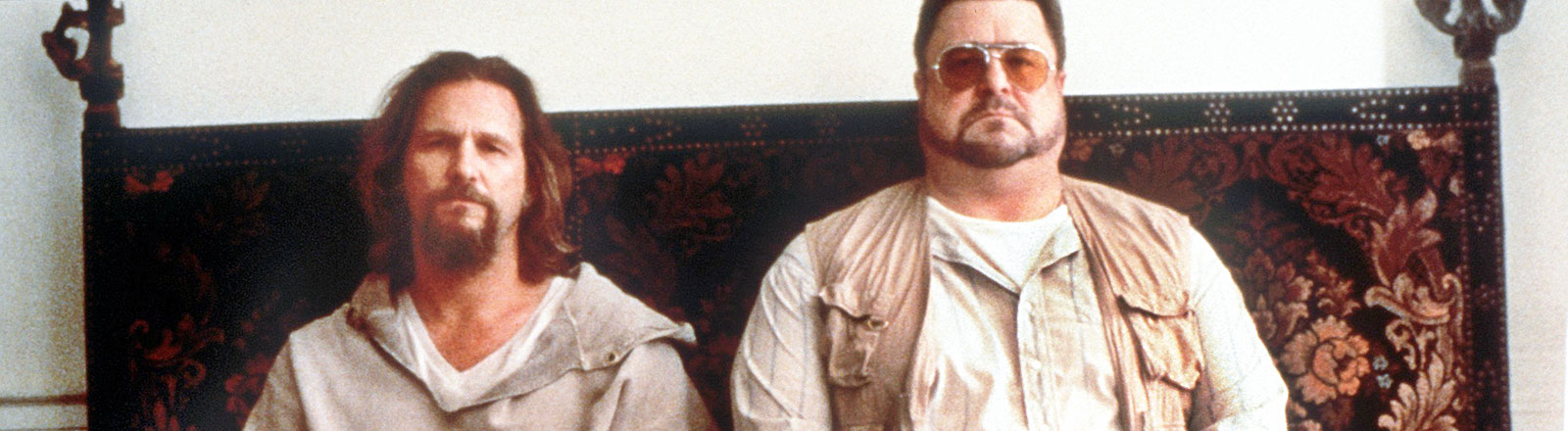 """Szene aus dem Kinofilm """"The Big Lebowski"""" mit den beiden Schauspielern Jeff Bridges und John Goodman."""