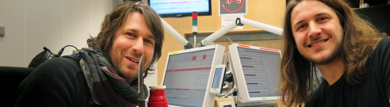 Der Paläontologe Kai Jäger als Frühstücksgast bei Sebastian Sonntag
