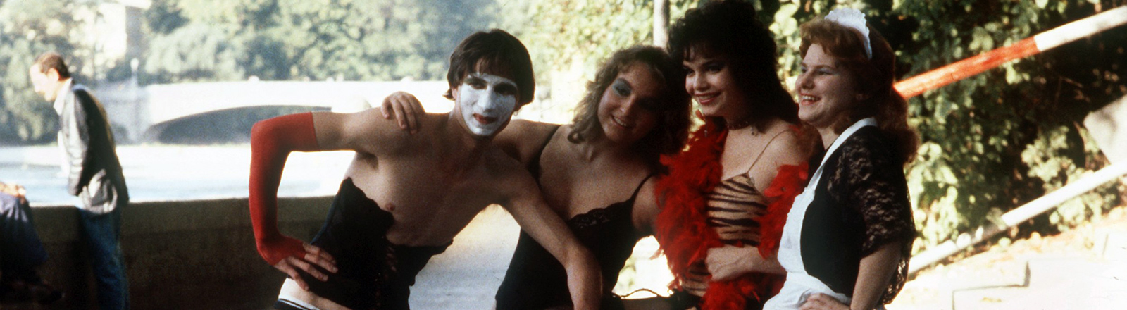 "Fans des Kultfilms ""The Rocky Horror Picture Show"" spielen den Film nach."