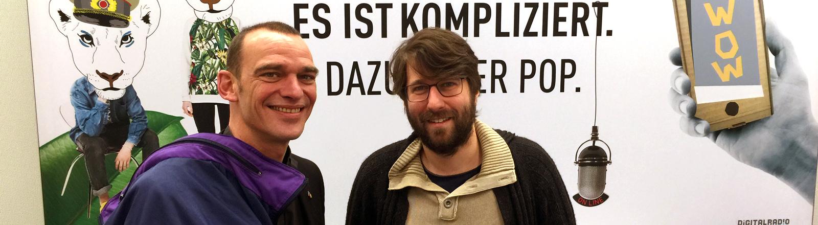 Albrecht Roebke und Sebastian Sonntag