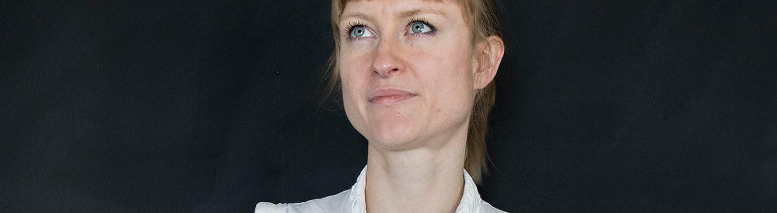 """Julia Köberlein hatte die Idee zum Onlinemagazin """"Der Kontext""""."""