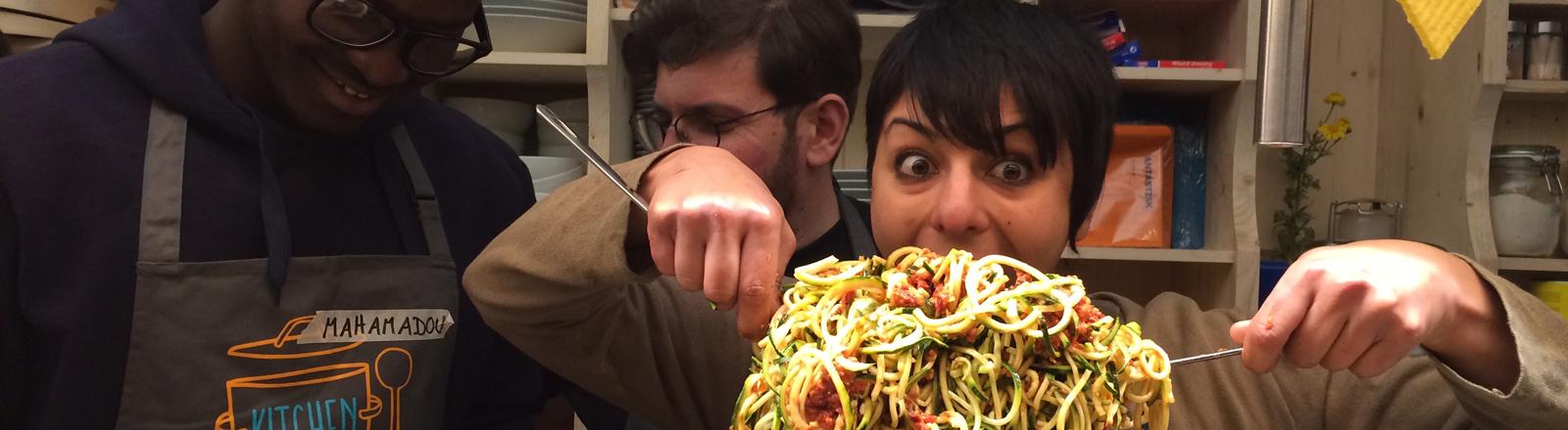 Spaghettimania in Bari