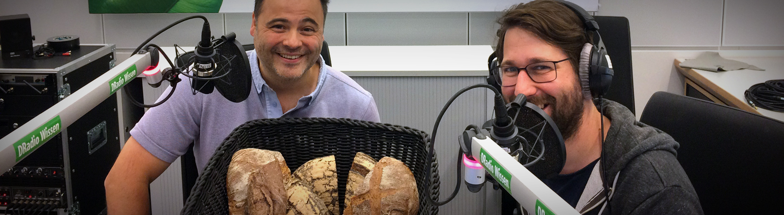 Brotsommelier Ralf Gießelmann und Sebastian Sonntag