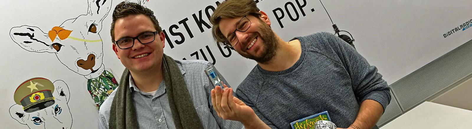 Patrick Schmidt und Sebastian Sonntag