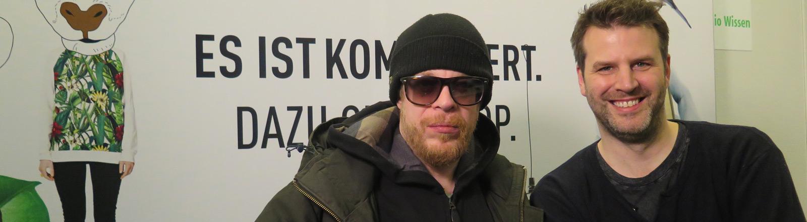 Ferris MC und Moderator Ralph Günther.