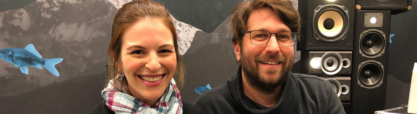 Dana Newman und Sebastian Sonntag