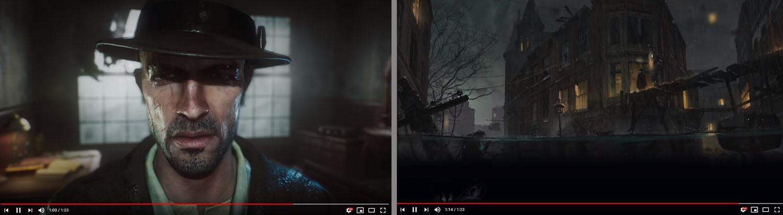 Screenshots aus Sinking City.