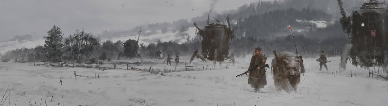 "Screenshot aus dem Game ""Iron Harvest"""