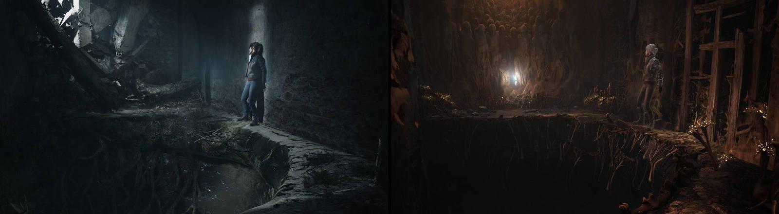 "Screenshot aus dem Game ""The Medium"""