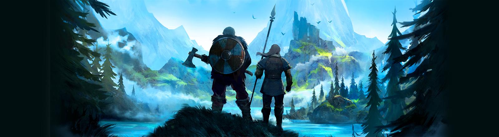 Screenshot aus dem Game Valheim von Iron Gate Studio