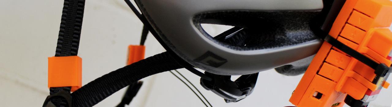Netzbasteln: Knochenschall-Bluetooth-Fahrradhelm