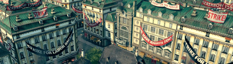 Screenshot des Spiels ANNO 1800 von Ubisoft BlueByte