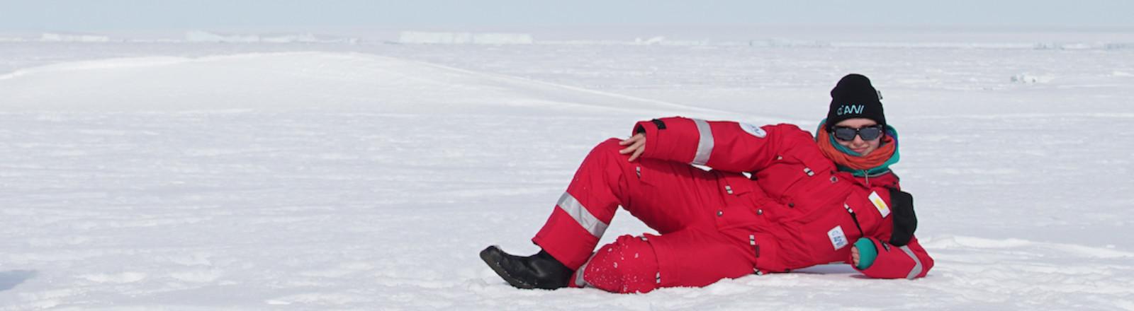 Meeresgeologin Elena Vorrath