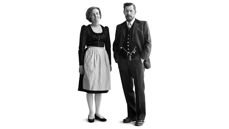 Hausfrau und Kaufmann für Überseehölzer