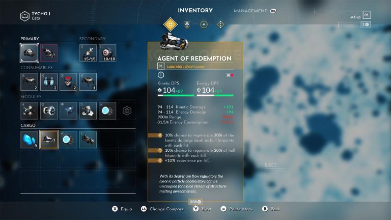 """Willkommen im Inventar: Waffen sind schon wichtig bei """"Everspace 2"""""""