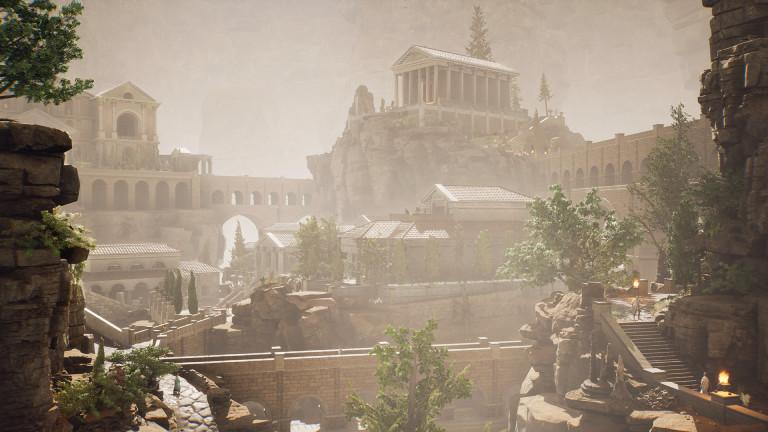 """Das ist sie: Ein Blick auf die """"Forgotten City"""""""